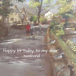 birthday Husband   personalised online greeting card