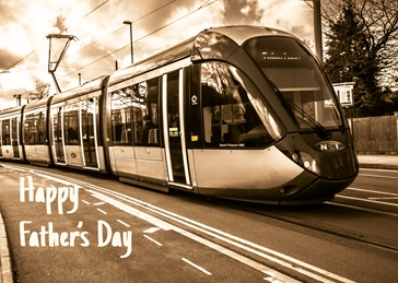 Tram Fathers day