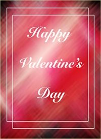 Valentines  Happy, Valentine's, Love, his, her, all, male, female, red personalised online greeting card