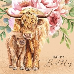 Millymoo Happy Birthday personalised online greeting card