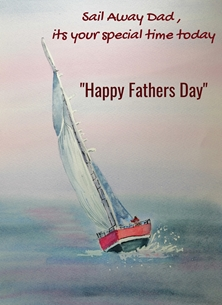 Sailing Away on fathers Day
