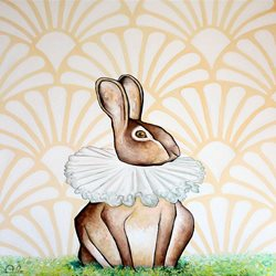 art  greeting cards by Antonio Pozo Rabbit  z%a Lord Harefiled