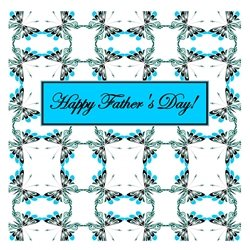 fathers  Cheerful, Spring, Butterfly, Butterflies, Patterns, Nature, Outdoors, Insects, Bugs personalised online greeting card
