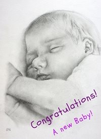 baby New Baby Congratulations personalised online greeting card