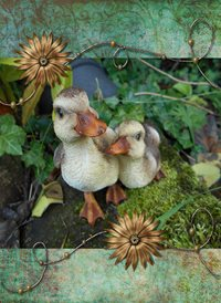 General  CUTE ANIMALS duck ducklings flower z%a personalised online greeting card