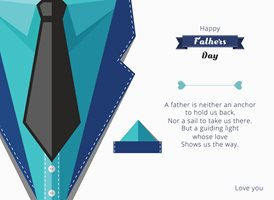 Fathers  Dad Daddy  z%a personalised online greeting card