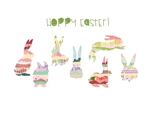 Hoppy Easter Bunnies