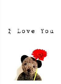 valentines   CUTE BEAR LOVE  z%a personalised online greeting card
