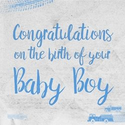 Baby  arrival of your boy greeting love by raluca curcan blue birth  z%a personalised online greeting card