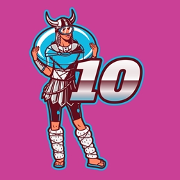 10th Birthday Pink Gamer Hero