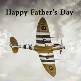 Spitfire Father's Day Card