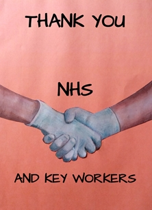 NHS Keyworkers Thank you
