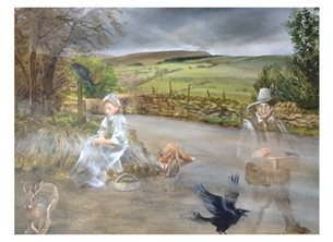 Wildart The curse art folklore personalised online greeting card