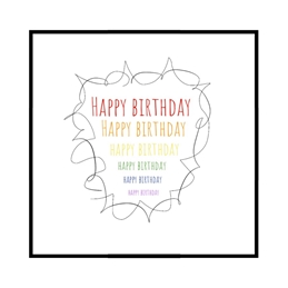 Birthday Rainbow