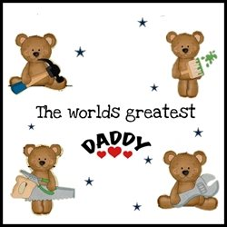 father Daddy , love , hero  personalised online greeting card