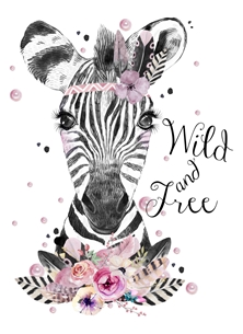 Wild & Free  Any occasion card