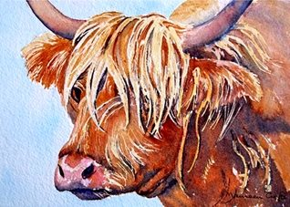 general artwork cow animals for-him for-her personalised online greeting card
