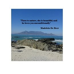 General Sand, sea, nature, table mountain, thoughtful personalised online greeting card