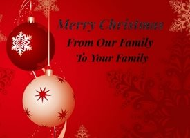 Christmas Family  z%a personalised online greeting card