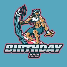 Birthday King Gamer