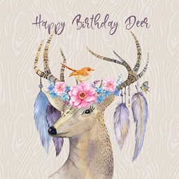 Happy Birthday Deer