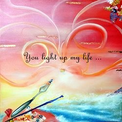 General light artist peace love joy  z%a personalised online greeting card