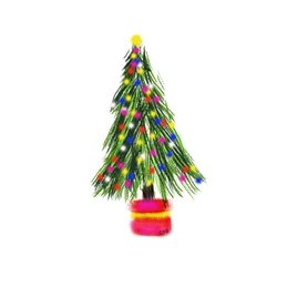 Christmas tree xmas colourful red green yellow multicoloured lights twinkle celebration December winter festival white background  personalised online greeting card
