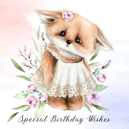 BIRTHDAY CHILDREN personalised online greeting card