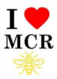 General Manchester football bee love z%a personalised online greeting card