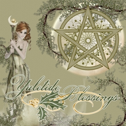 christmas christmas wiccan personalised online greeting card