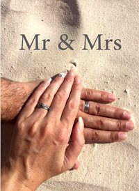 wedding  MR MRS HIM HER HUSBAND WIFE  z%a personalised online greeting card