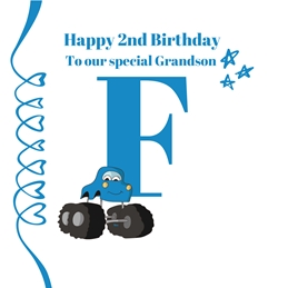 Initial F ~ Grandson ~Add your own name