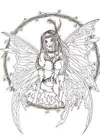 General fairy, fantasy,artistic personalised online greeting card