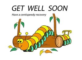 who's your froggie get well well caterpillar personalised online greeting card