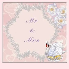 Pet Pics n Portraits Mr & Mrs wedding Mr & Mrs, Wedding,  personalised online greeting card