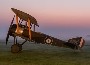 Chappers Photography Sopwith Pup Photography Aeroplane, aviation, airplane, sopwith, pup, plane, flying personalised online greeting card