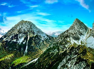Photography Mountains, Alps, Climbing, General, birthdays, walking, rambling, holidays, photographic  personalised online greeting card