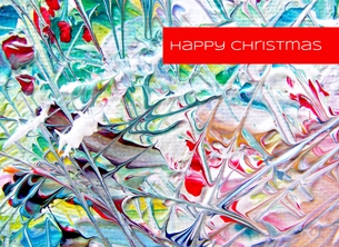 Andrew Alan Art Abstract Holidays #1 christmas holidays, christmas cards, christmas, abstracts, abstract christmas, seasons greetings, festive cards, wintery, winter,  personalised online greeting card
