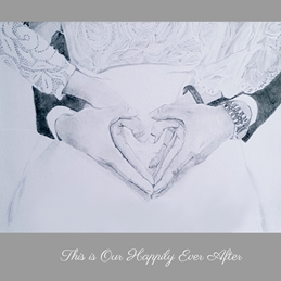 Sophie Louise Creates Happily Ever After Wedding wedding, engagement, couples, anniversary, marriage, love, happily ever after personalised online greeting card