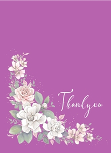 THANKYOU thanks personalised online greeting card