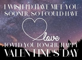 Valentines Love you longer, Love, Vaentines, Valentines day personalised online greeting card