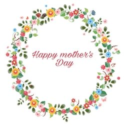 Mothers Mum love mothers special flowers  personalised online greeting card