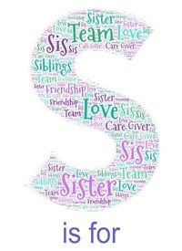 birthday general sister, sis, sisterinlaw, family, relatives  personalised online greeting card