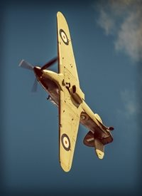 NorthLight Photo-Art Hurricane Overhead Photography for-him, son, brother, father, grandfather, husband, father's day, birthday, RAF, RAF100, Battle of Britain, Hawker Hurricane, historic, fighter, classic, aeroplane, airplane, plane, planes, vintage,  personalised online greeting card