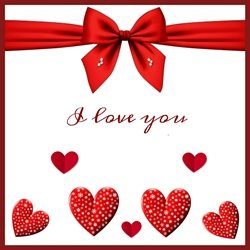 Bellacards Valentines  Valentines Love, hearts, red, happy,  personalised online greeting card