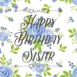 Birthday sister personalised online greeting card