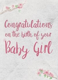 baby girl made with love by raluca curcan pink birth baptism z%a personalised online greeting card