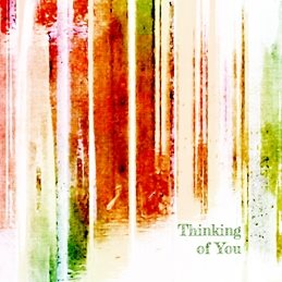 thinking general THINKING stripes arty abstract red green white orange yellow dark light kind fresh happy solid heartfelt strong for-him for-her personalised online greeting card
