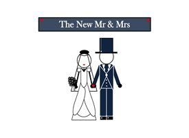 wedding Wedding card, Congratulations, The New Mr & Mrs,