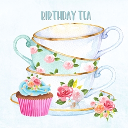 Birthday Tea Card